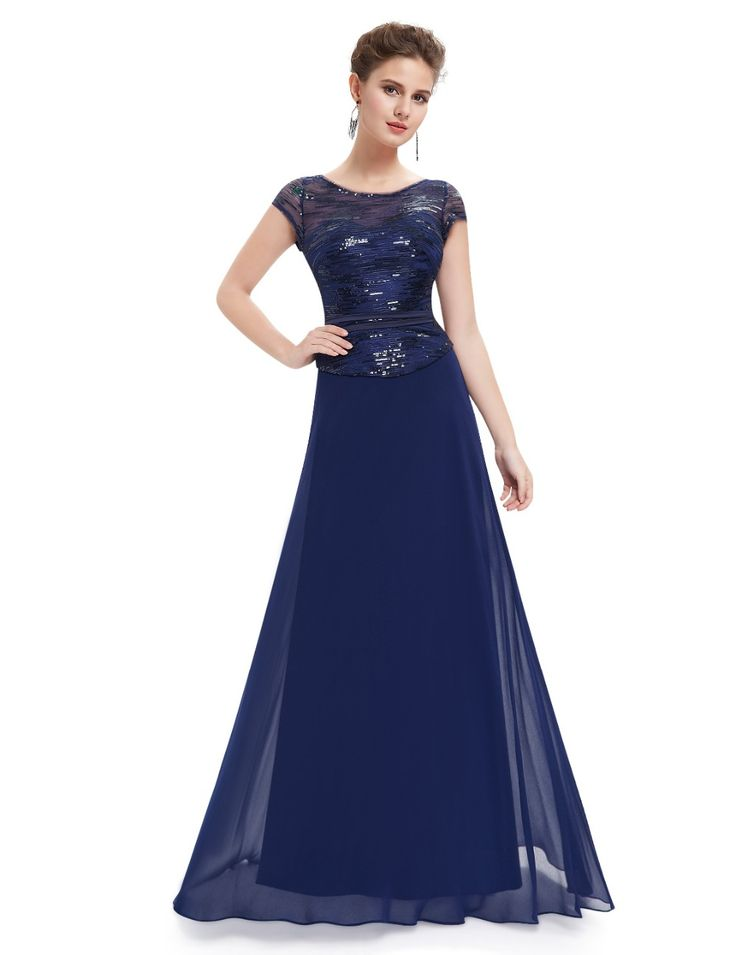 Short Sleeve Navy Blue Mother of the Bride Dresses Ever Pretty HE08818 2016 Lace Mother Of The Bride Dresses