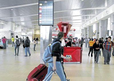 Horario de salida de vuelos internacionales desde Quito día Martes