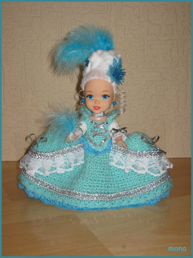 doll 20 - model from the rococo period