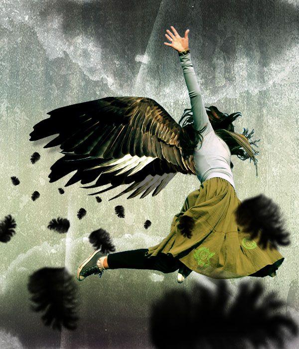 oops ... #falling #angel