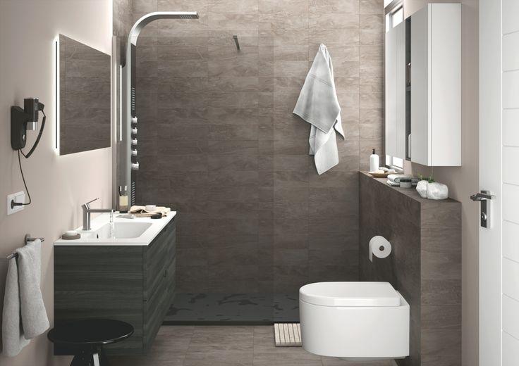 die besten 25 badezimmer anthrazit ideen auf pinterest fliesen anthrazit fliesen badezimmer. Black Bedroom Furniture Sets. Home Design Ideas