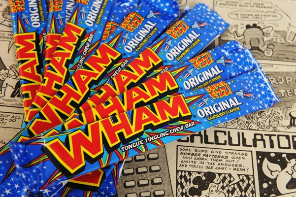 One of our favourite, most iconic sweets, the mighty WHAM BAR!