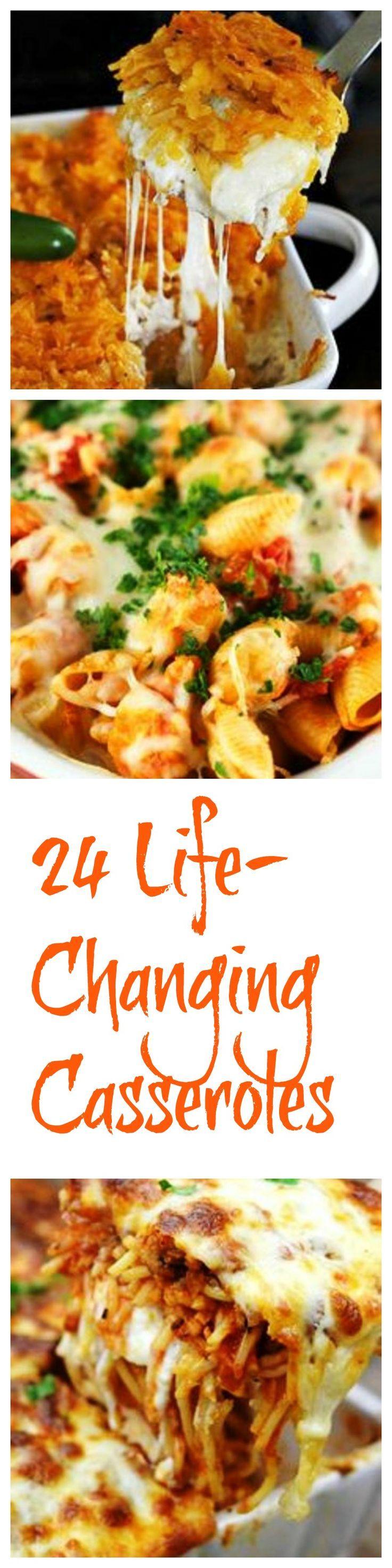 24 Life-Changing Casseroles