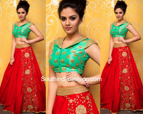 Designer Lehenga by Ashwini Reddy
