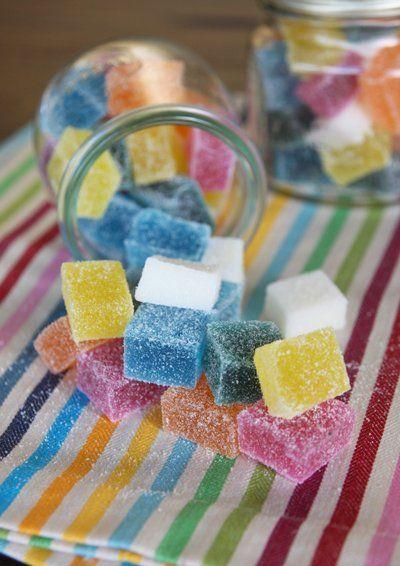 Sparkly Fruit Gummies recipe
