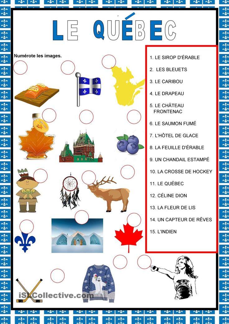 Pays francophones - Le Québec