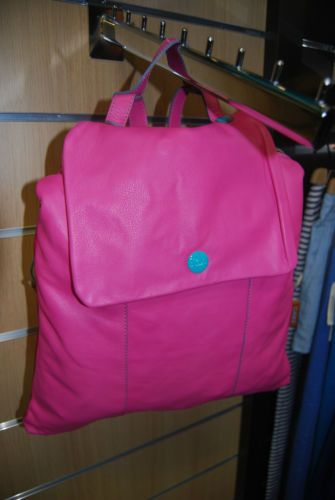 Borsa-Donna-Zaino-Gabs-2014-Fucsia-M-NUOVA-New-Fuxia-Woman-Bag-Purse-GPACK