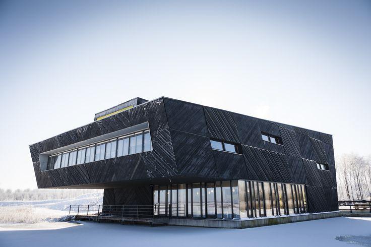copyright Jorn van Eck,  Natuurbelevingcentrum de Oostvaarders, Oostvaardersplassen, Almere Buiten Drost + Van Veen architecten