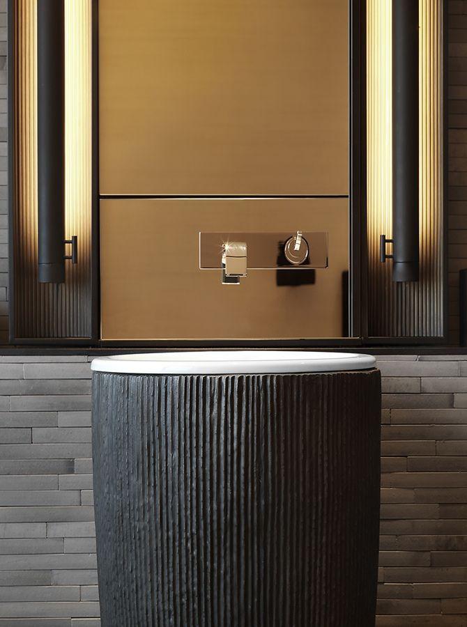 Sink detail - The PuLi Hotel & Spa, Shanghai