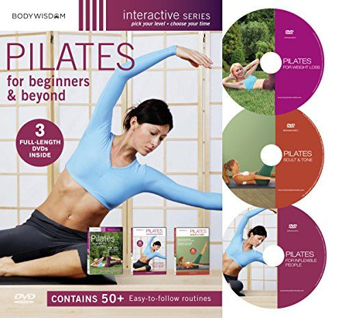 Pilates For Beginners & Beyond Boxed Set (Pilates for Inflexible People / Pilates Complete for Weight Loss / Pilates Complete Sculpt and Tone) bodywisdom media, inc. http://www.amazon.com/dp/B0041UUNU2/ref=cm_sw_r_pi_dp_dnxRvb1EXDHHG