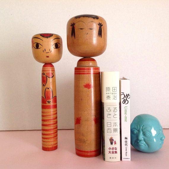 traditional kokeshi dolls / Tsuchiyu Takobozu?