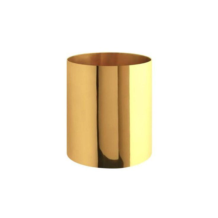 Gusums Messing ~ Vas cylinder i mässing - SovrumsShoppen.se