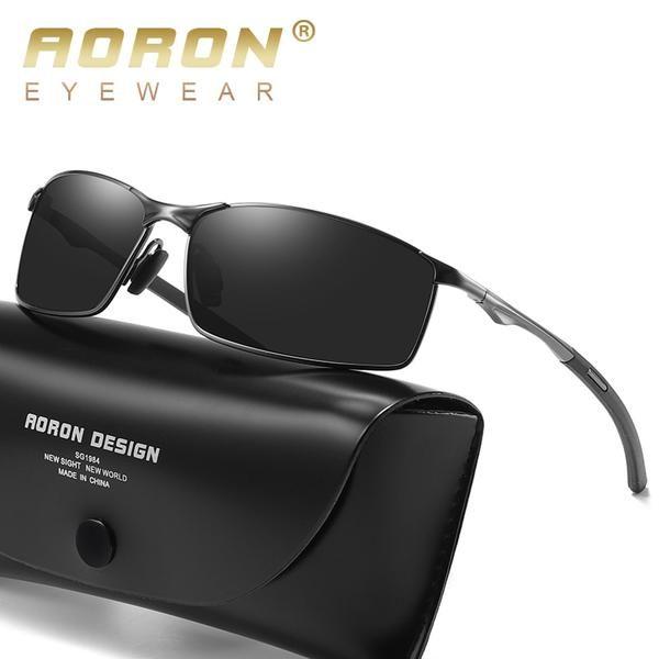New Men/'s Polarized Sunglasses Retro Pilot Metal Outdoor Driving Eyewear Glasses