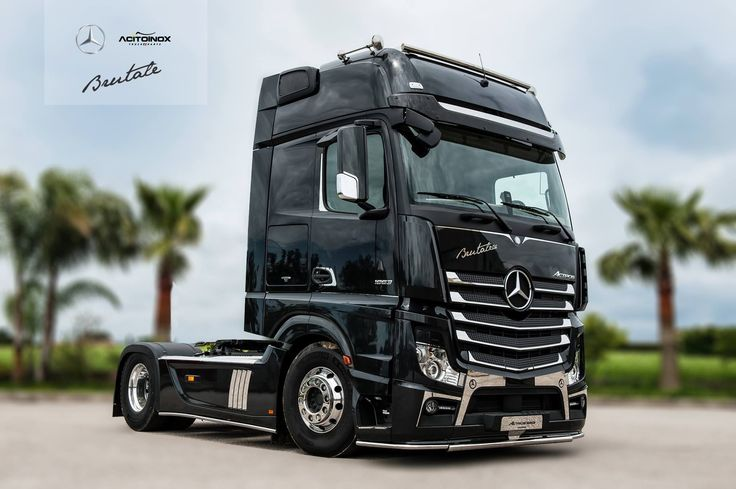 mercedes actros brutale 630 realizzato in partnership con. Black Bedroom Furniture Sets. Home Design Ideas