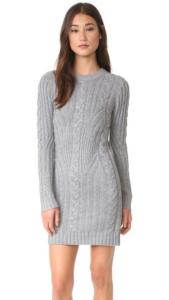 Moon River Long Sleeve Sweater Dress