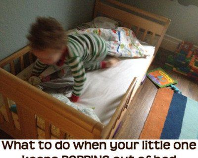 Having just hosted my 20-month old nephew on an overnight visit, I am reminded that toddlers can pop out of bed (even leaving the room!) without the skills to go back to sleep. I asked toddler sleep expert, Nicole, to weigh in on the little kid that won't stay in his bed at night. Nicole Johnson...