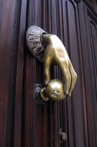 Love this door knocker
