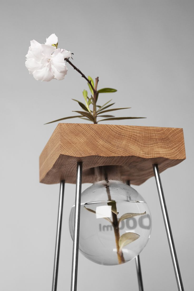 Table for a Flower by Adam and Sam Cigler of Studio Vjem