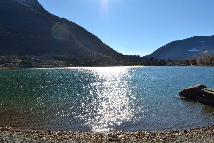 Lago di Endine! Sponda Spinone al Lago!