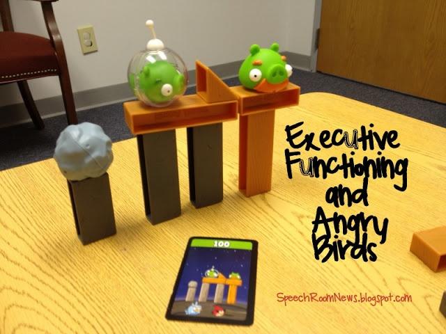 Speech Room News: Angry Birds: Executive Functioning