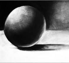 Simple objects are again a useful portrait of utilising shading and shadowing along with hatching to see the skills of charcoal.
