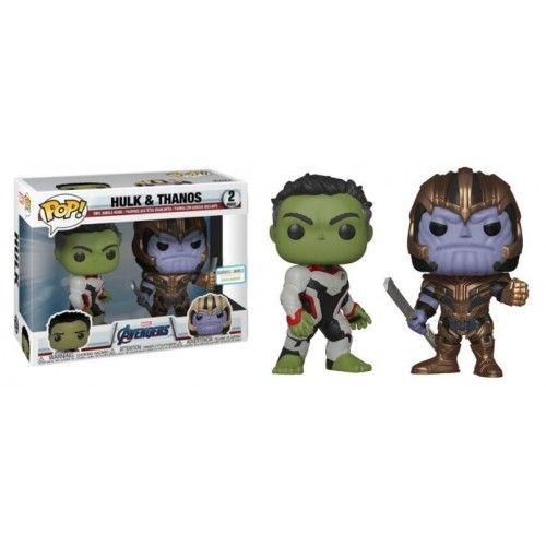 Funko Hulk & Thanos   Marvel Vingadores Ultimato   Marvel