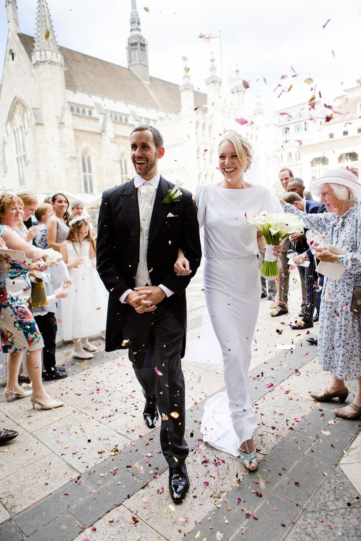 Maria Grachvogel for a Grecian Inspired London City Wedding http://eddiejuddphotography.com/