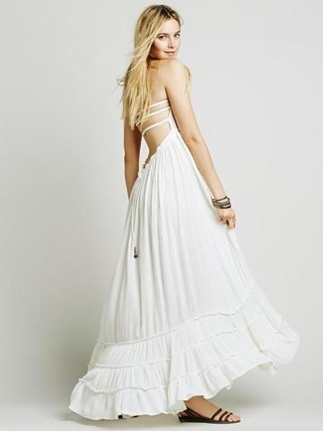 Strappy Backless Bohemian Maxi Dress - Ragazza   Co.  8a41f0b4e
