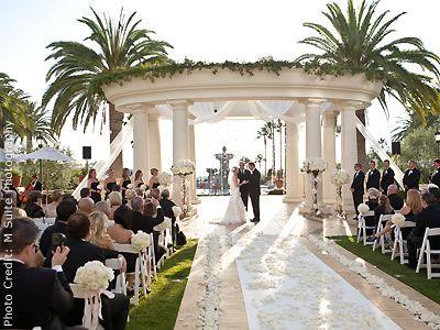 St. Regis Resort, Monarch Beach Wedding Locations Orange County wedding venues 92629