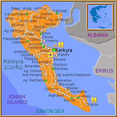CORFU TRAVEL NEWS: HOLIDAYS IN CORFU -GREECE