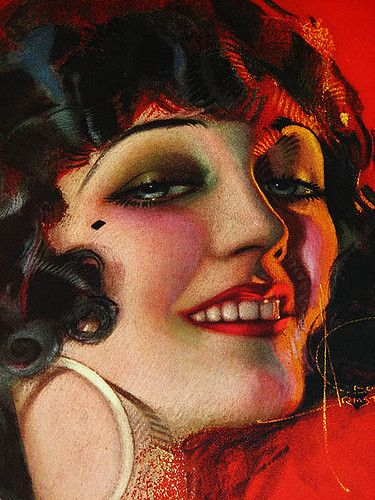 POLA NEGRI BY ROLF ARMSTRONG