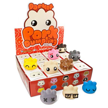 Pocket Pork Dumpling Series 1: Case of 16. $103.99 from My Plastic Heart. Click through to purchase.