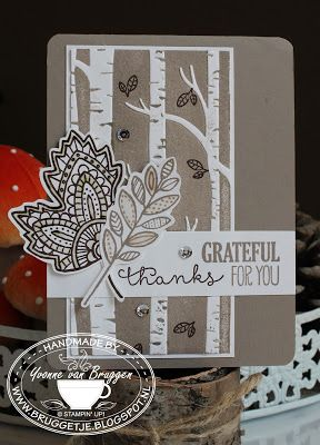 Stampin' Up! ...... Yvonne Stampin '& Scrapping ..... Happy World Card Making Day !!