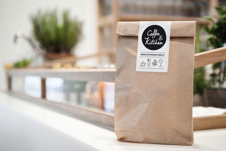 Coffe & Kitchen restaurant branding on The Dieline