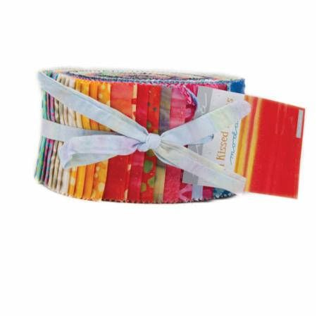 Sun Kissed/Jelly Roll/Moda Precut/Quilting/Moda Jelly Roll/Fabric/strips/fabric strips/quilting fabric/Moda Batik Jelly Roll/Batik Fabric by KimberlysFabricStash on Etsy