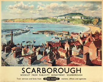 Scarborough : British Railways - Gyrth Russell (1950's)