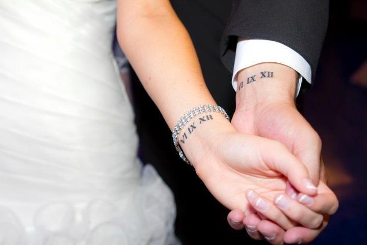 My Husband S Wedding Date Tattoo Ink I Like Pinterest Tattoos And Body Art