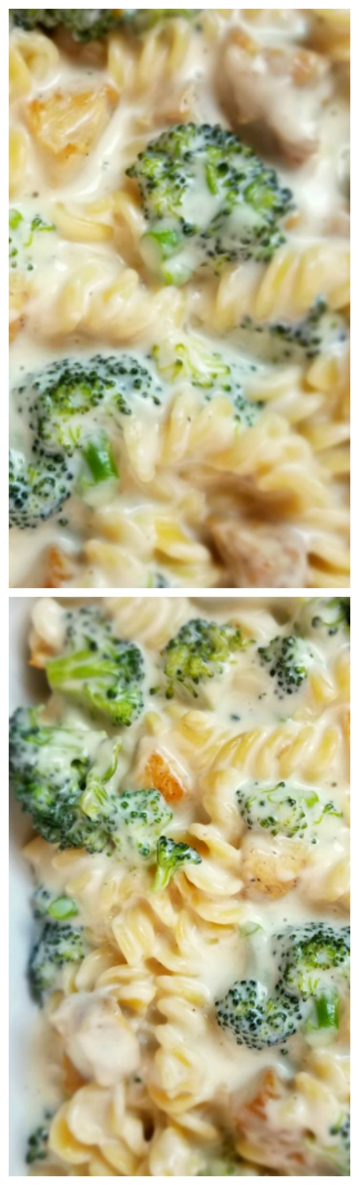 Chicken and Broccoli Macaroni and Cheese ~ Turn this humble side dish into a full meal by simply adding some cooked chicken and steamed broccoli to the pot.
