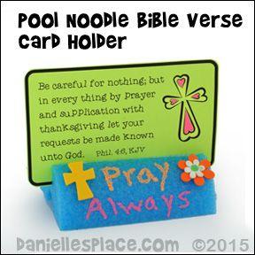 Noodle Card Holder