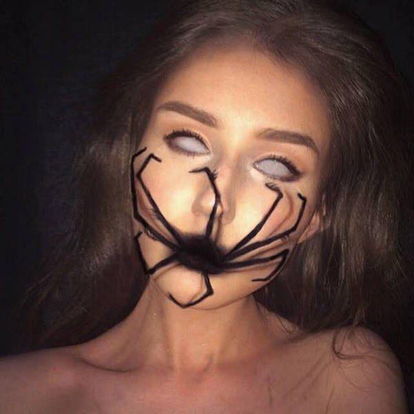 Spider queen Halloween makeup   Seasonal   Pinterest   Trucco ...