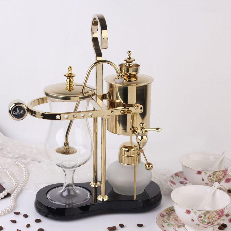 New Manual Espresso royal balancing coffee brewers  vacuum coffee maker SH-1 #yujiaren