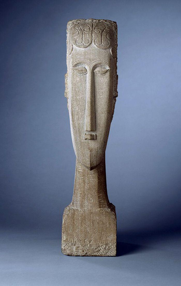 Amedeo Modigliani ,Woman's Head,1912
