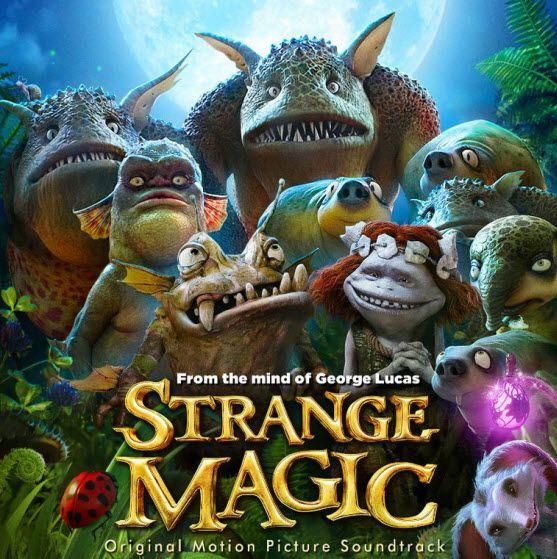Strange Magic soundtrack features vices of Evan Rachel Wood and Alan Cumming