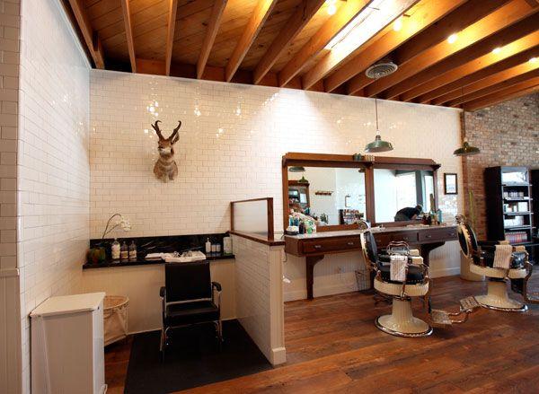 Baxter Finley, Barber U0026 Shop (NOTCOT) · Barbershop DesignBarbershop IdeasShop  ...