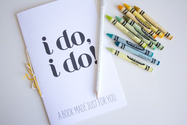 DIY Printable Wedding Activity Book