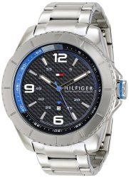 Tommy Hilfiger Men's 1791002 Silver-Tone Stainless Steel Watch