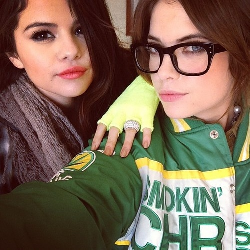 Are absolutely Ashley benson and selena gomez consider