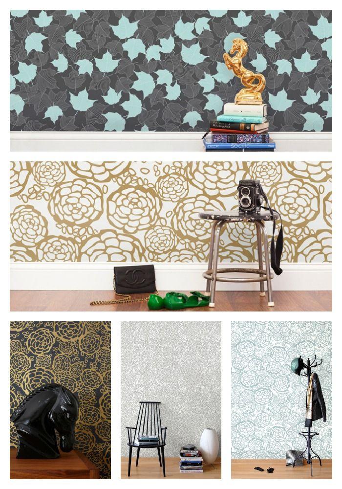 Wallpaper designed by Oh Joy!