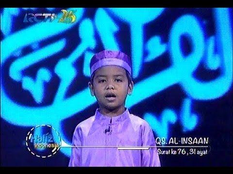 Hafidz Indonesia - Omar QS. Al Insaan - Babak Musabaqah 7 Besar - Hafidz...