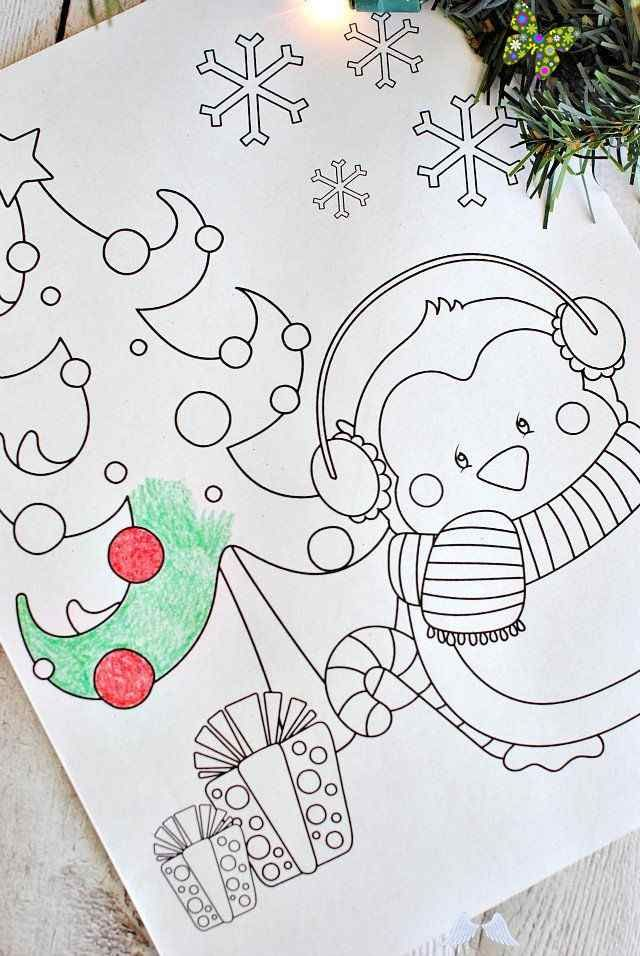Free Christmas Coloring Pages Free Printable Christmas Coloring Pages Craz In 2020 Christmas Coloring Pages Printable Christmas Coloring Pages Christmas Coloring Books
